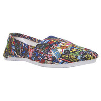 Marvel Comics™ Printed Slip-On Shoes | Wet Seal