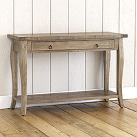 Grey-Weathered Farmhouse Console Table | World Market