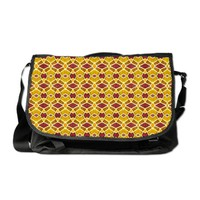 Vibrant Pattern Messenger Bag