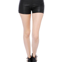 Papaya Clothing Online :: MUST HAVE LEATHER SHORT PANTS
