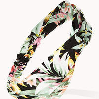 Tropical Floral Knotted Headwrap