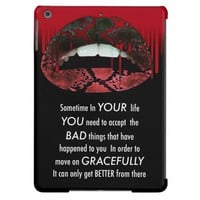Empowering Quotes Sassy Lips Drip Ipad Air Cases