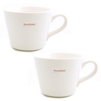 I liked this design on #Fab. Teatime Bucket Mug Set