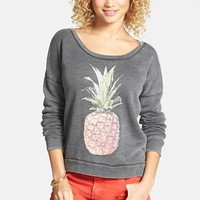 Billabong 'She Sells' Pineapple Print Pullover (Juniors) (Online Only) | Nordstrom