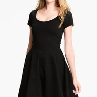 FELICITY & COCO Ponte Knit Fit & Flare Dress (Nordstrom Exclusive) | Nordstrom