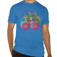 Bicycle Design Men's Shirt
