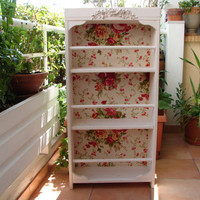 French shabby chic rosesvintagecream wooden by shabbyfrenchstyle