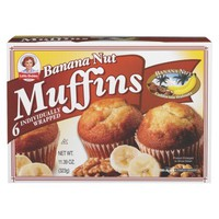 Little Debbie Banana Nut Muffins 6 ct