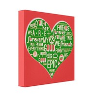Fun chic Love Red green healinglove customize