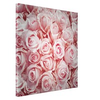 Bed of light pink roses ,romantic soft girly cute