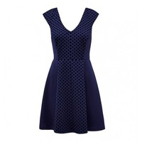 Poppy Flocked Skater Dress Buy Dresses, Tops, Pants, Denim, Handbags, Shoes and Accessories Online Buy Dresses, Tops, Pants, Denim, Handbags, Shoes and Accessories Online