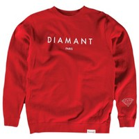 Diamond Supply Co Diamant Paris Crew Sweatshirt - Men's at CCS