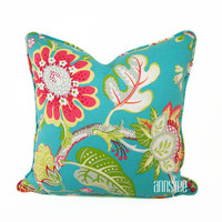 "DISCONTINUED 20% OFF Indoor-Outdoor Pillow Cover - 20"" x 20"" With Self Welt, from P. Kaufmann Fabrics"