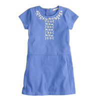 GIRLS' EMBELLISHED TEE DRESS