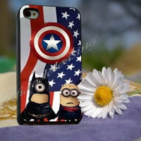minion batman - for iPhone 4/4s, iPhone 5/5S/5C, Samsung S3 i9300, Samsung S4 i9500 Hard Case *rafidodolcasing*