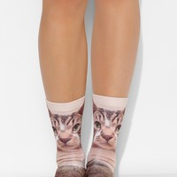 Screen-Print Critter Crew Sock - Urban Outfitters