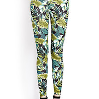 Down-To-Earth Leaf Leggings