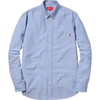 Supreme: Oxford Shirt - Blue