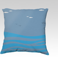 I Dream of Sea by Texnotropio (18x18 pillow)
