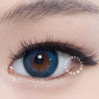 GEO Hurricane Blue Circle Lenses | EyeCandy's
