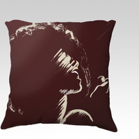 Melodious Imprints by Texnotropio (18x18 pillow)