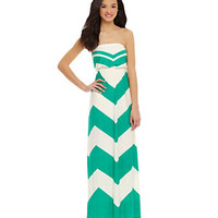 Moa Moa Chevron Maxi Dress | Dillard's Mobile