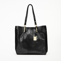 Kenneth Cole Bar Code Leather Tote