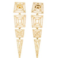 MAIYET | Machu Picchu Diamond and Yellow Gold Earrings | Browns fashion & designer clothes & clothing