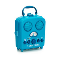 Water Resistant Retro Radio - Blue