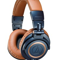 Audio-Technica ATH-M50xBL Professional Headphones - Blue