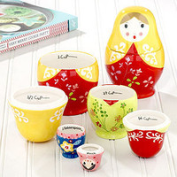 Russian Dolls Measuring Cups, Set of 3 | Cooking and Baking| Kitchen & Dining | World Market