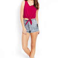 Flirty Self-Tie Top