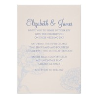 Custom Casual Modern Wedding Invitations