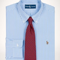 Striped Slim-Fit Oxford