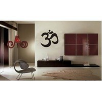 Amazon.com: Large Om Symbol Wall Decal Sticker Buddha Absolute Brahman Hindu: Everything Else
