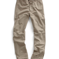Khaki Selvedge Officer Pant