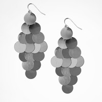 DANGLING DISC EARRINGS