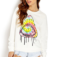 Neon Pop Shark Sweatshirt | FOREVER21 - 2000106593