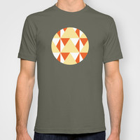 Geometric Pattern 3-Yellow T-shirt by mollykd