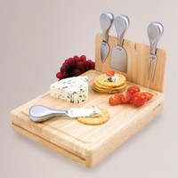 FOLDING CHEESE BOARD TOOL SET