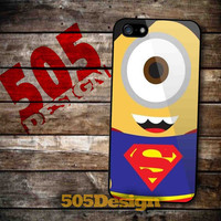 Superman Minion for iPhone 4/4S, iPhone 5/5S, iPhone 5C and Samsung Galaxy S3, S4