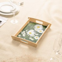 Daisies Serving Tray