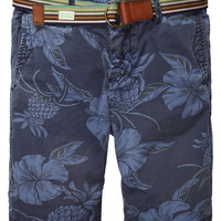 Chino shorts with belt - Scotch & Soda