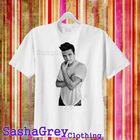 Handsome Josh Hutcherson White _ T-Shirt Men's Size S - 3XL Design By : sashagreystore