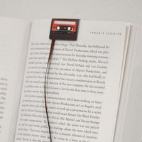 Cassette Tape Bookmarks | The Gadget Flow