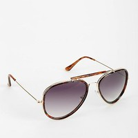 Top Trooper Aviator Sunglasses - Urban Outfitters
