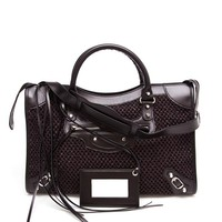 BALENCIAGA | Giant Mini City Leather Handbag | Browns fashion & designer clothes & clothing