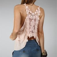 Salmon Crochet Top :: www.windsorstore.com