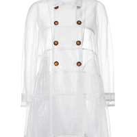 RED Valentino - Tulle Trench Coat