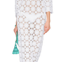 Melissa Odabash - Cotton Crochet Cara Maxi Dress